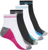 Spyder Striped Welt Socks - 4-Pack, Ankle (For Women)