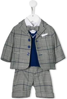 Colorichiari 6-piece checked suit