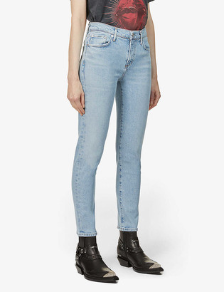AGOLDE Toni straight high-rise jeans