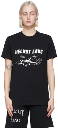 Helmut Lang SSENSE Exclusive Black Saintwoods Edition Plane T-Shirt