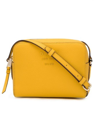 DKNY logo plaque cross body bag