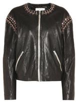 Etoile Isabel Marant Isabel Marant, Étoile Buddy embellished leather jacket