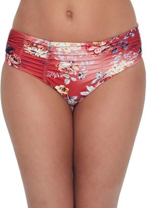 Azura Portabello Mid-Rise Bikini Bottom