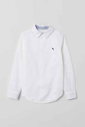 H&M Cotton Shirt - White