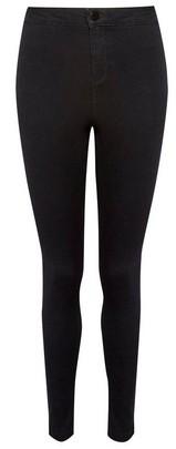 Dorothy Perkins Womens Black 'Lyla' High Waist Skinny Denim Jeans, Black