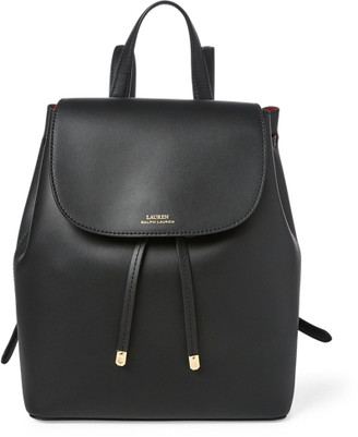 Ralph Lauren Drawstring Leather Backpack