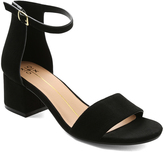XOXO Black Horatio Sandal