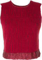 Maison Margiela ribbed sweater vest