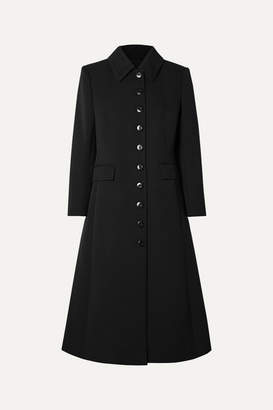 Givenchy Wool-blend Twill Coat - Black