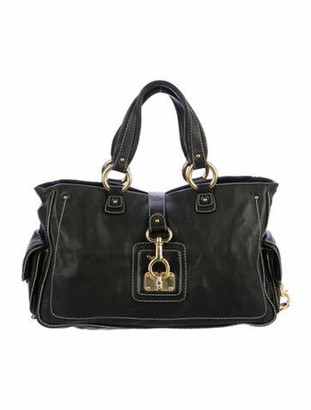 Marc Jacobs Studded Leather Tote Black