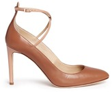 Giuseppe Zanotti Design 'Bimba' crossover strap leather pumps