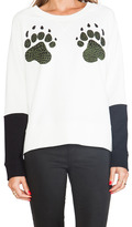 Tibi Paw Sweatshirt