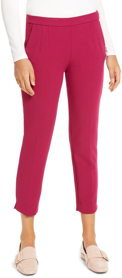 J.Crew Slim Stretch Crepe Pants
