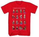 Minecraft Boys' Graphic Tee - Red XL