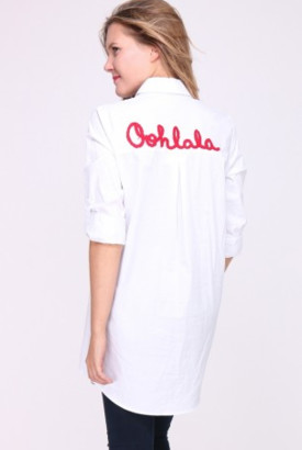 Alresford Linen Ooh La La Shirt - S