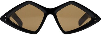 Gucci Diamond-frame sunglasses