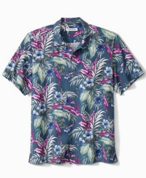 Tommy Bahama Men's Evening Blooms Camp Shirt