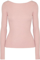 Elizabeth and James Fay Tie-Back Ribbed-Knit Sweater