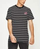 Santa Cruz OG Dot Stripe T-Shirt Black