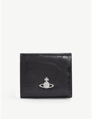 Vivienne Westwood Archive Orb leather coin wallet