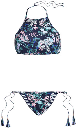 Tart Collections Printed Halterneck Bikini
