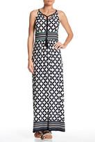 Sandra Darren Printed Maxi Dress (Petite)