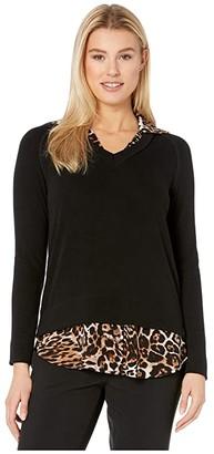 Karen Kane Layered Sweater