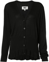 MM6 MAISON MARGIELA frill button-down blouse - women - Viscose - S