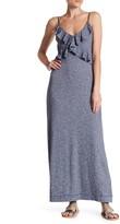 Max Studio Ruffled Maxi Dress