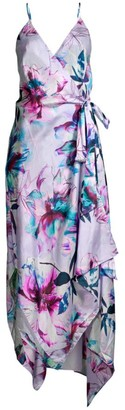 Gottex Swim Primrose Cotton & Silk Wrap Dress
