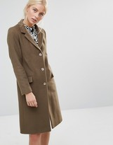 Helene Berman College Coat in Green