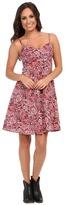 Stetson 9136 Paisley Print Spaghetti Strap Dress