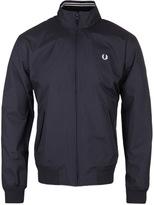 Fred Perry Brentham Dark Navy Collar Trim Jacket