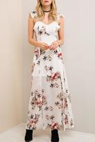 Entro Ivory Floral Maxi