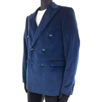 Tagliatore Blue Velvet Jackets