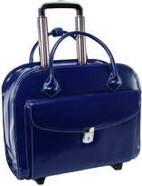 McKlein McKleinUSA Granville 15.4 Leather Wheeled Laptop Briefcase
