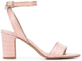 Tabitha Simmons Leticia 60mm snakeskin-effect sandals