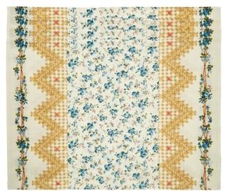 D'Ascoli Set Of Four Tidewater Floral-print Placemats - Blue Multi
