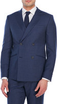 Moods of Norway Carsten Slim Fit Double-Breasted Suit Jacket