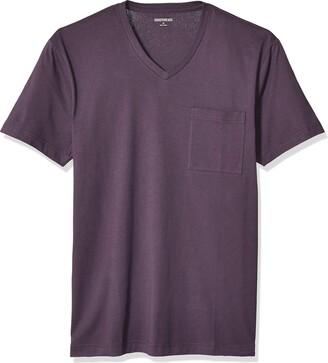 "Goodthreads Amazon Brand Men's Slim-Fit ""The Perfect V-Neck T-Shirt"" Short-Sleeve Cotton"