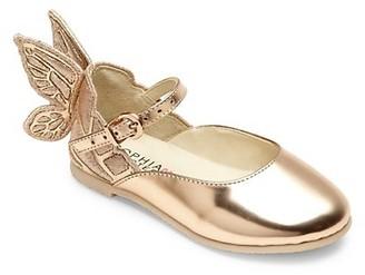 Sophia Webster Baby's, Little Girl's & Girl's Mini Chiara Wing Leather Flats