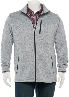 Sonoma Goods For Life Big & Tall Supersoft Sweater Fleece Zip Jacket