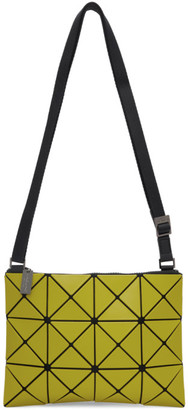 Bao Bao Issey Miyake Yellow Small Matte Lucent Crossbody Bag