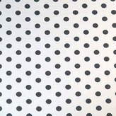 SheetWorld Fitted Pack N Play (Graco Square Playard) Sheet - Polka Dots Grey - Made In USA - 36 inches x 36 inches ( 91.4 cm x 91.4 cm)