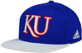 adidas Kansas Jayhawks Flat Brim Snapback Cap