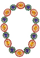 Miu Miu Flower crystal-embellished necklace