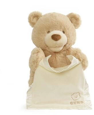 Gund Interactive Plush Animal Peek-A-Boo Teddy Bear