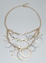 Stephan & Co Multi Ring Necklace
