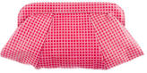 Lauren Merkin Pleated Embossed Clutch w/ Tags