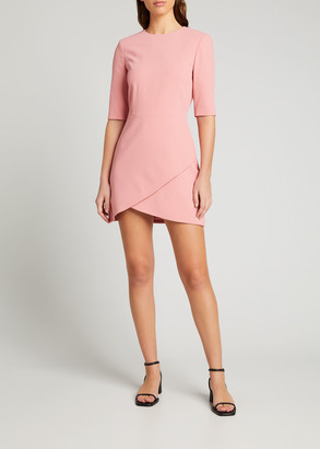 Alice + Olivia Calista Double-Layer Dress